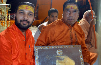 Participated in Dharm Sansad with Pandit Ajay Gautam at Varanasi