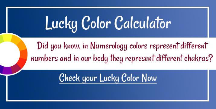 Lucky Color Calculator