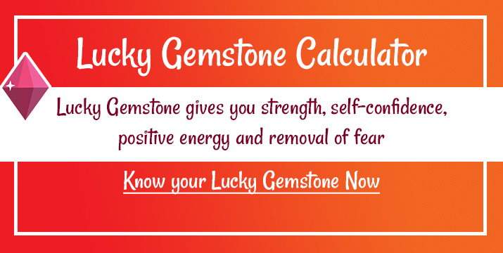 Lucky Gemstone Calculator