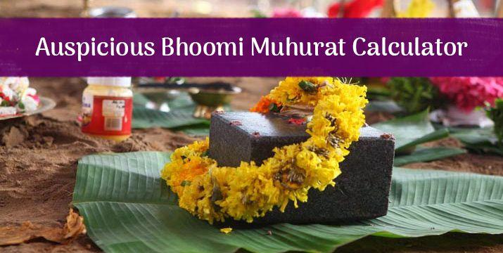 Auspicious Bhoomi Pujan Muhurat Calculator