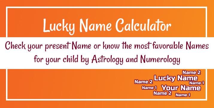 Lucky Name Calculator